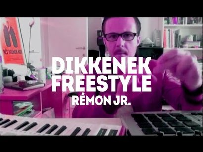 "Drumming by Rémon Jr. : ""Dikkenek"""